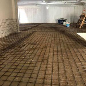Piso Garagem Concreto Polido