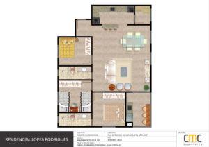 Apartamento 201/301