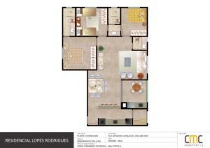 Apartamento 202/302